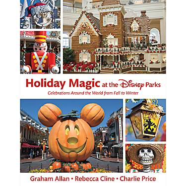 Holiday Magic at the Disney Parks Book