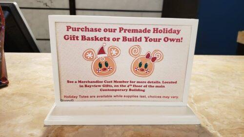 Gift Basket Sign