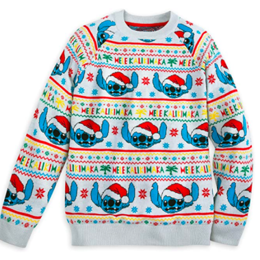 Light-Up Stitch Christmas Sweater