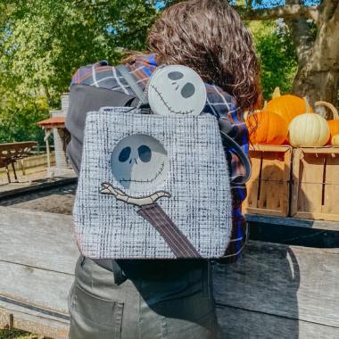 Danielle Nicole Jack Skellington Convertible Backpack
