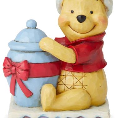 Winnie the Pooh Christmas Figurine
