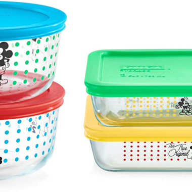 Mickey Pyrex Set