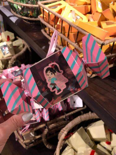 Disney pin in whimsical box