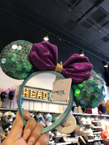 Mermaid Minnie Ears