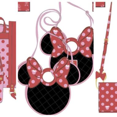 Pink Bow Minnie Loungefly