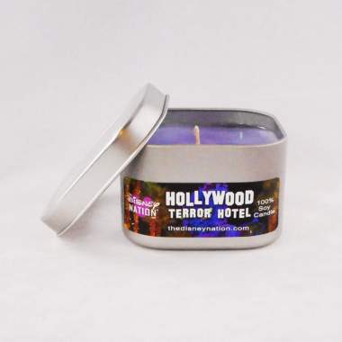 Hollywood Tower Hotel Candle