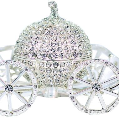 Cinderella Carriage Trinket Box