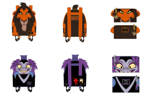 Scar And Yzma Loungefly Preorders