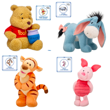 Winnie The Pooh Build-A-Bear Collection