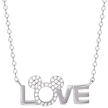 Mickey Icon Love Necklace