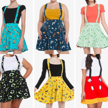 Disney Suspender Skirts
