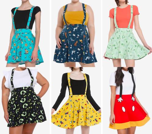 Disney Suspender Skirts