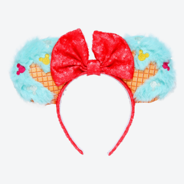 Ice Cream Cone Minnie Ears