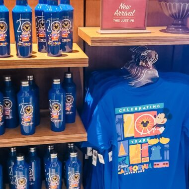 Disney California Adventure Park 20th Anniversary Merchandise