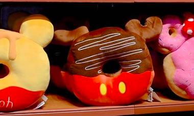 Character Donut Pillows