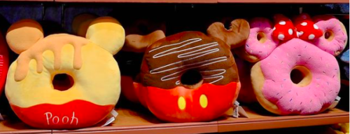 Character Donut Pillows