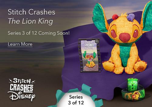 Stitch Crashes Disney Series 3