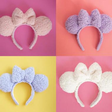 Sherpa Minnie Ears