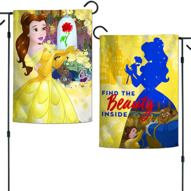 Beauty And The Beast Garden Flag