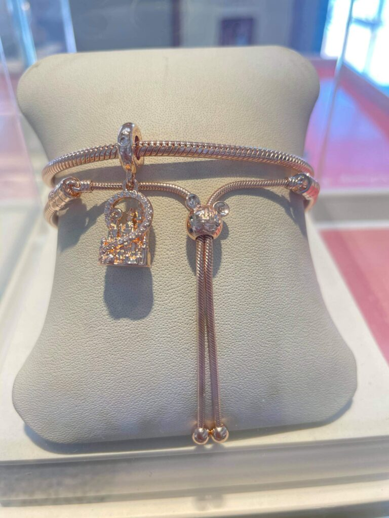 New Pandora Charm And Bracelet Magically Appear In Disney World Jewelry