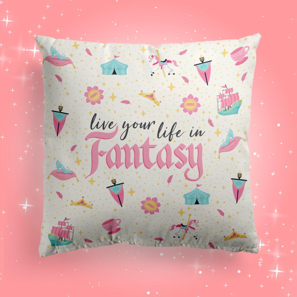 New Disney throw pillows