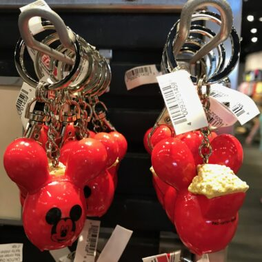 Disney Food themed keychains