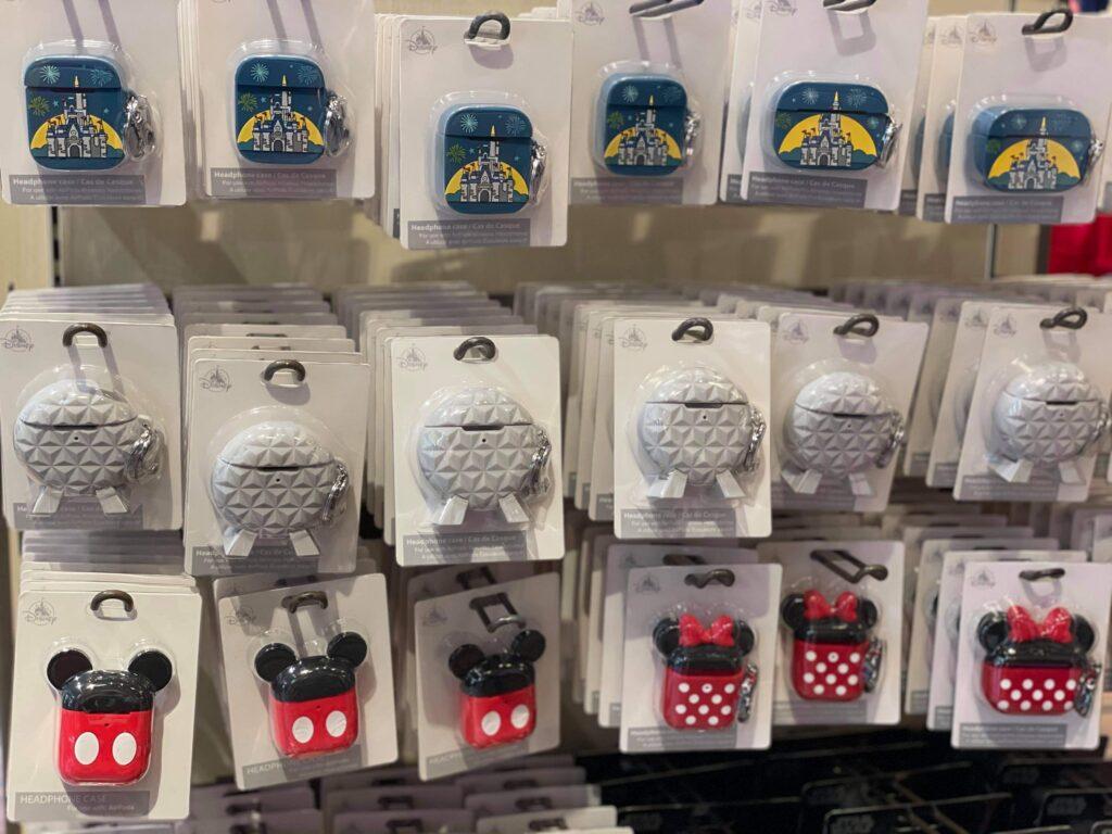 Disney headphones charging cases
