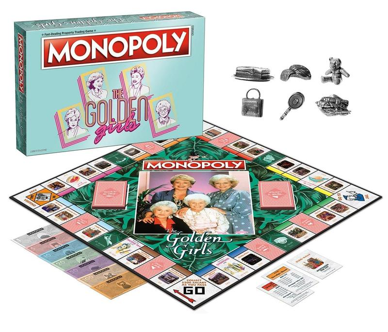 Golden Girls Monopoly Game
