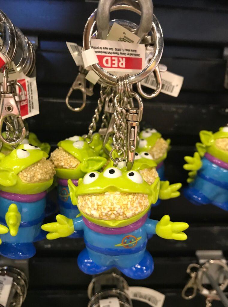 Disney Food themed keychains