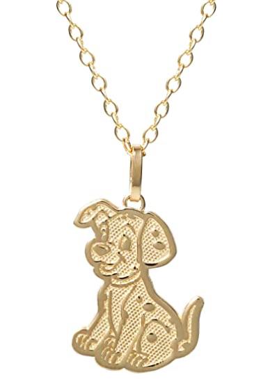 101 Dalmatians Gold Necklace