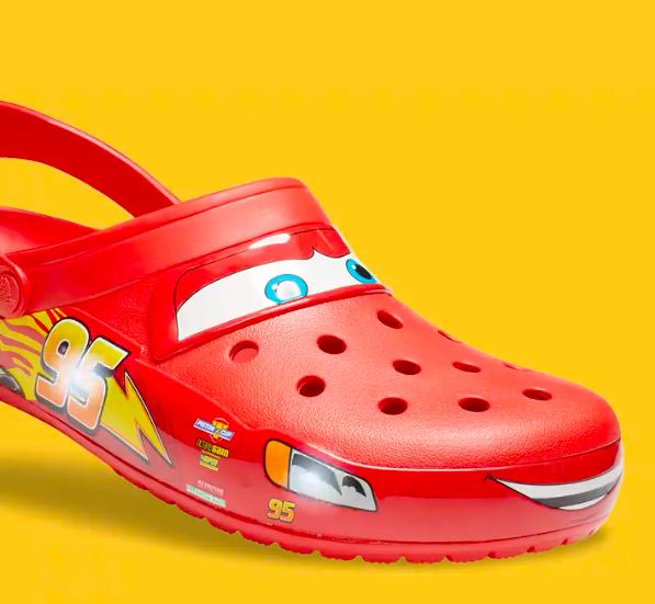 Light-Up Lightning McQueen Adult Crocs