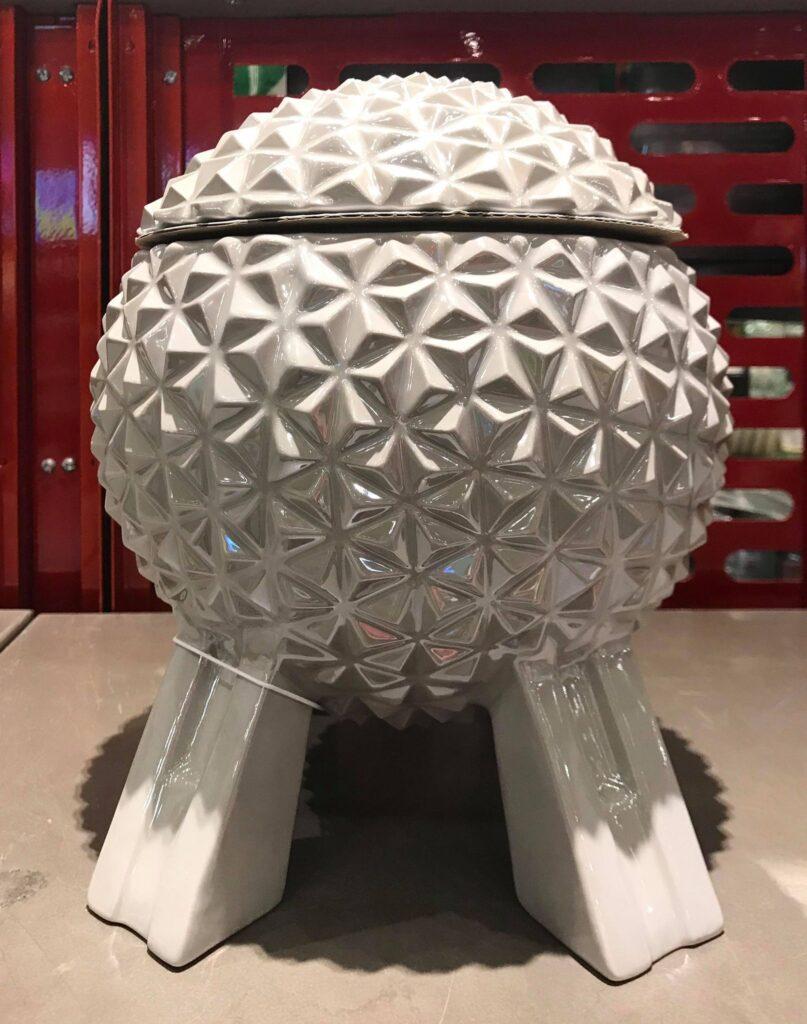 Spaceship Earth Cookie Jar