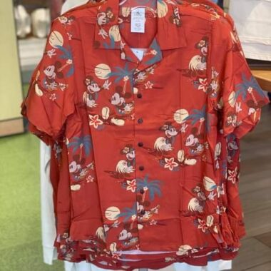 Mickey and Minnie Tropical Clothing