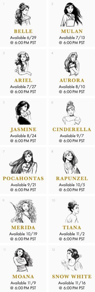 Disney Princesses Makeup Collection