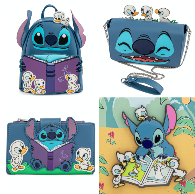 Stitch Duckling Loungefly Pieces