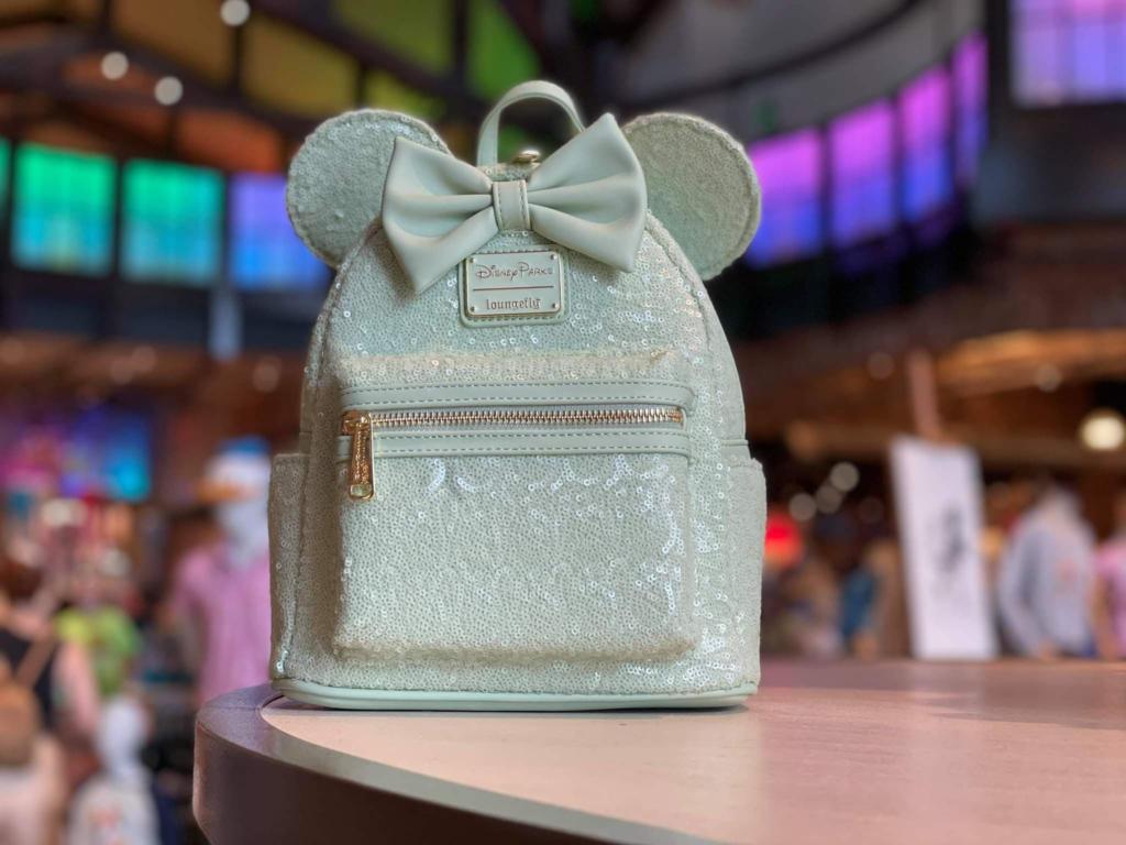 Mint Loungefly Mini Backpacks