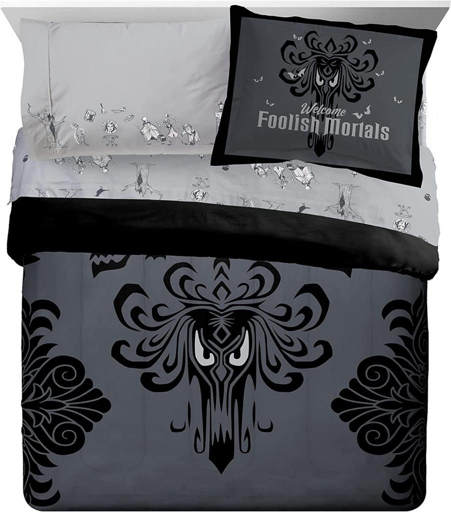 Haunted Mansion Wallpaper Bedding
